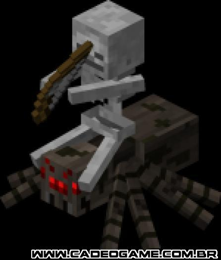 http://www.minecraftwiki.net/images/thumb/e/ee/Spider_Jockey.png/150px-Spider_Jockey.png