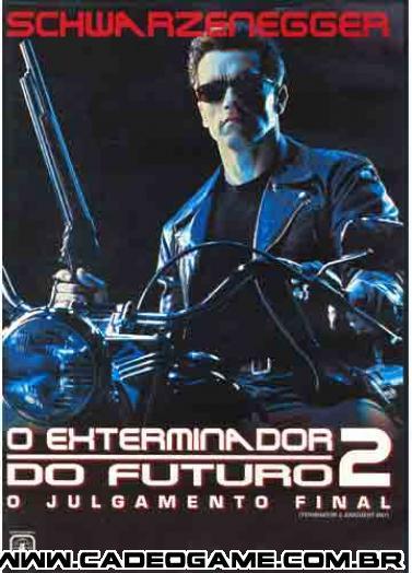 "Referencia ao Filme \""Exterminador do Futuro II\"""