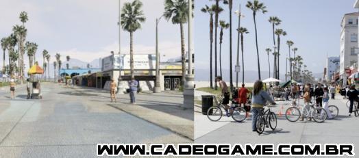 Comparação: Los Santos vs Los Angeles