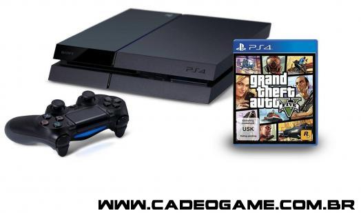 GTA V com bundle PS4 na Europa?