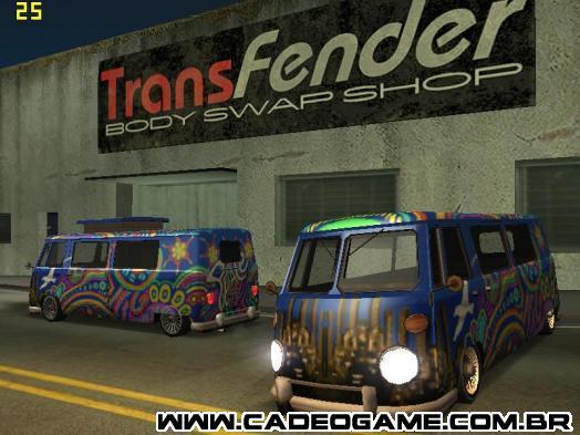 Camper Modificável e Hippie Paintjob na Transfender