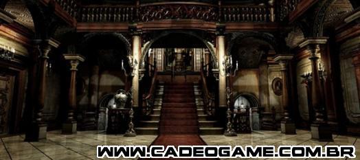 Produtor afirma que realidade virtual foi usada para reproduzir a Mansão Spencer em RE HD Remaster