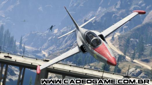 GTA Online: Escola de aviação de San Andreas Update