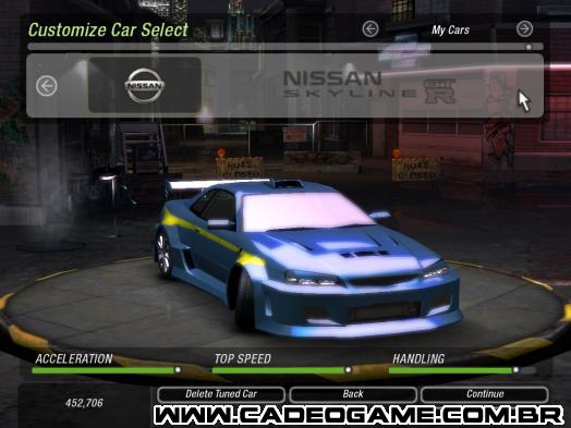 Need for Speed: Underground 2 - Cadê o Game - Carros de ...