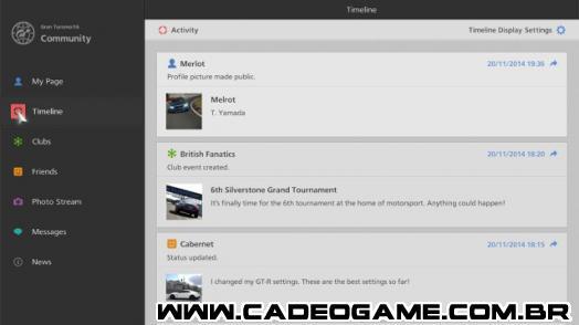 Gran Turismo 6: novidades da atualização 1.14
