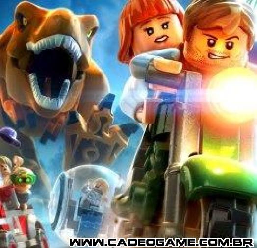 Venda semanal de jogos no Reino Unido: Lego Jurassic World em 1º e The Elder Scrolls online em 2º