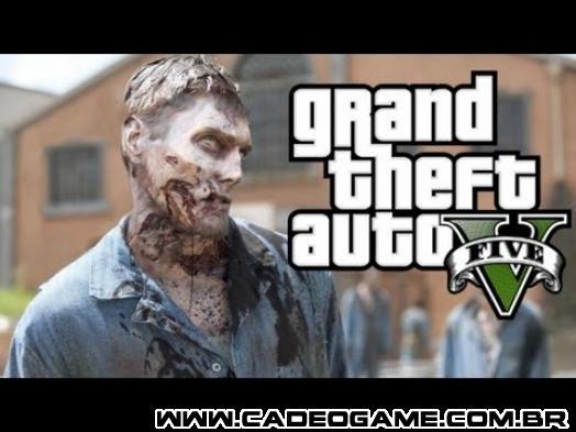 DLC de Zombies parece estar confirmada para GTA V, anúncio oficial da Rockstar próximo?