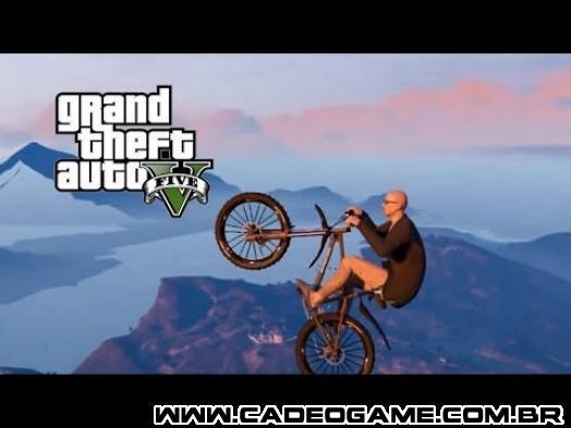 É Possível Voar Numa Bicicleta no GTA Online
