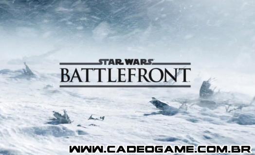 Star Wars Battlefront chega no final do ano que vem