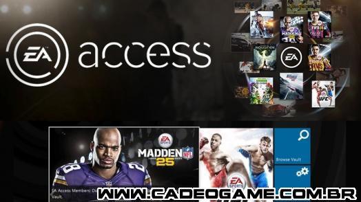 EA Access supera as expectativas da EA