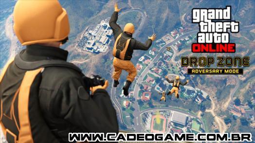 Mini DLC de GTA V trás novidades no GTA Online