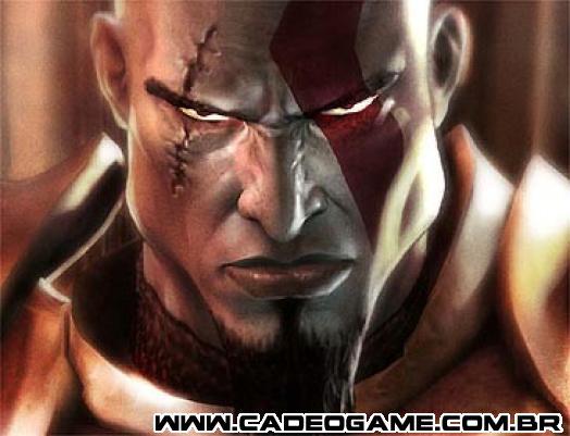God of War 2 - Cadê o Game - Kratos 8e440edc8e93f